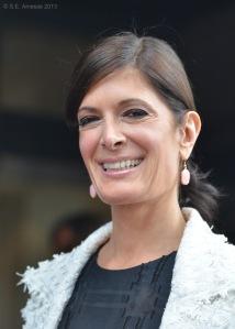 La comédienne Anne-Marie Cadieux