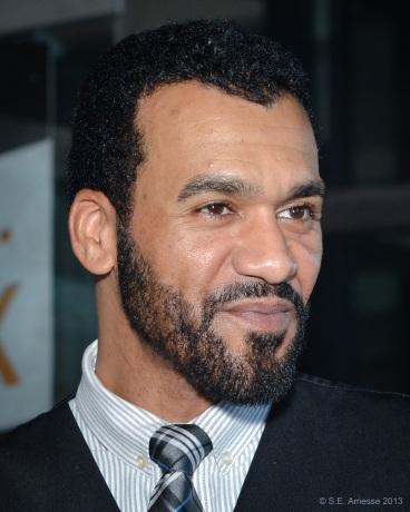 L'acteur et chanteur québécois Danny Blanco-Hall, membre du jury pour les longs métrages de fiction.
