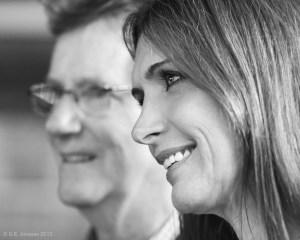 Le comédien Marc Messier et la présentatrice météo et blogueuse Lyne Ste-Marie