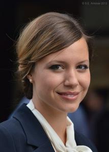 La comédienne Magalie Lépine-Blondeau