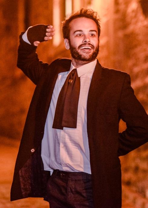 Émile, comédien et guide pour Fantômes Montréal