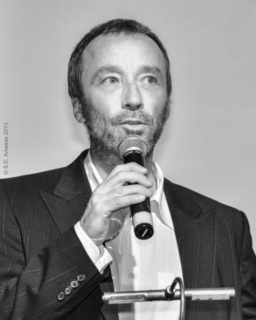 Le metteur en s`cene et réalisateur Michel Monty, président du jury pour les courts et moyens métrages.
