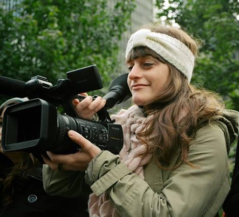 La cinéaste Naomie Décarie-Daigneault