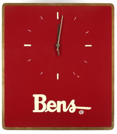 Horloge, fin du 20e siècle. Photo : Réal Cyr