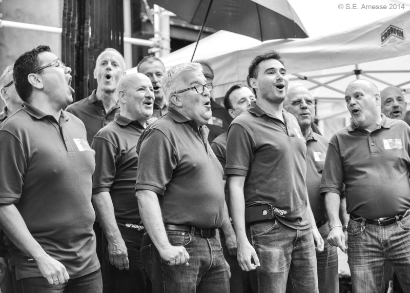 Ensemble vocal Les Nanas.