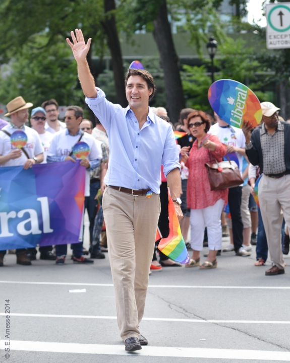 Justin Trudeau, chef du Parti libéral du Canada.