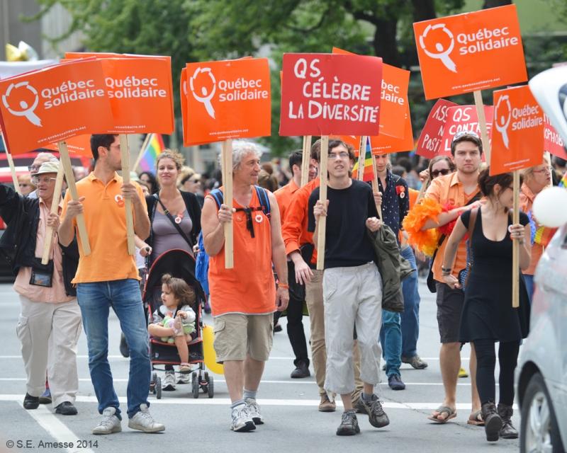 Québec solidaire.