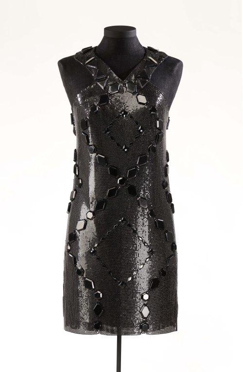 Robe de Céline Dion, signée Versace, vers 2008. Styliste : Annie Horth. Photo : Musée McCord.