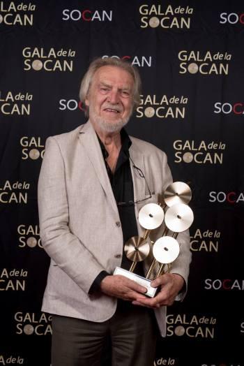 Le Prix Empreinte culturelle a été remis à Stéphane Venne. Photo : Benoît Rousseau.
