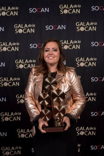 Ariane Moffatt, auteure-compositrice de l'année. Photo : Benoît Rousseau.