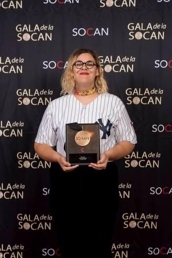 Safia Nolin, lauréate du Prix Révélation. Photo : Benoît Rousseau.