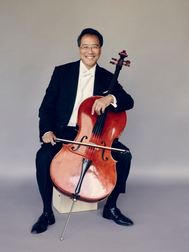 Yo-Yo Ma. Photo : Jason Bell.