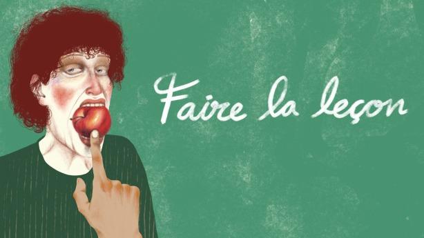 Faire_la_leçon_affiche